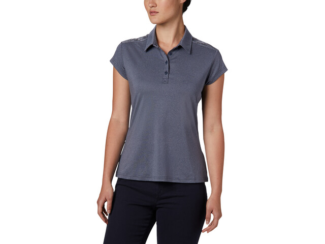 Columbia Peak To Point II Polo Mujer, nocturnal heather